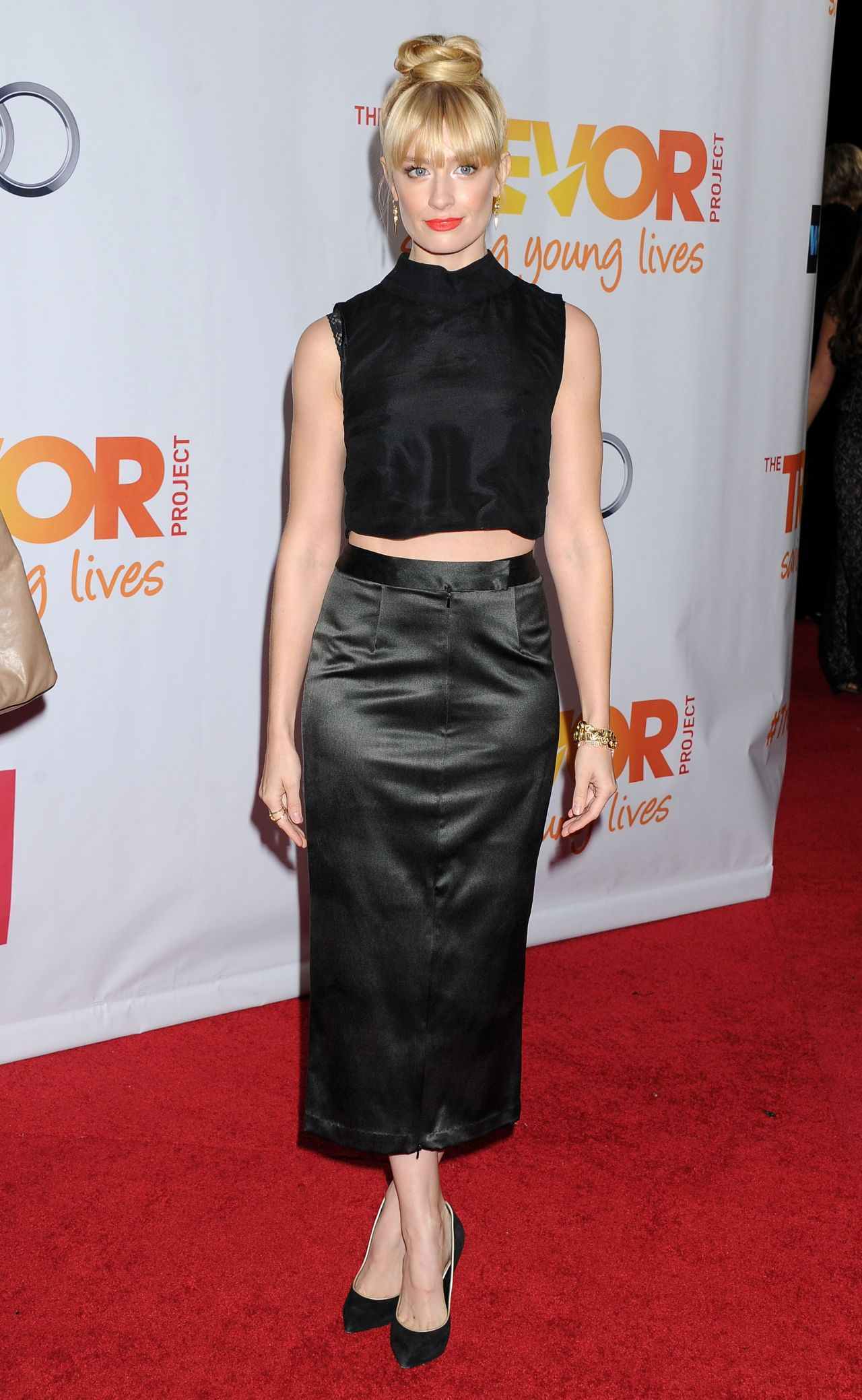 Beth Behrs - Trevor Project TrevorLIVE LA Honoring Jane Lynch in Hollywood - December 2013