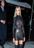 Beyonce Knowles Style for a Party for Her New Album at SVA Theater in New York City
