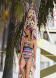 Brooklyn Decker in a Bikini - beach in Miami - December 2013