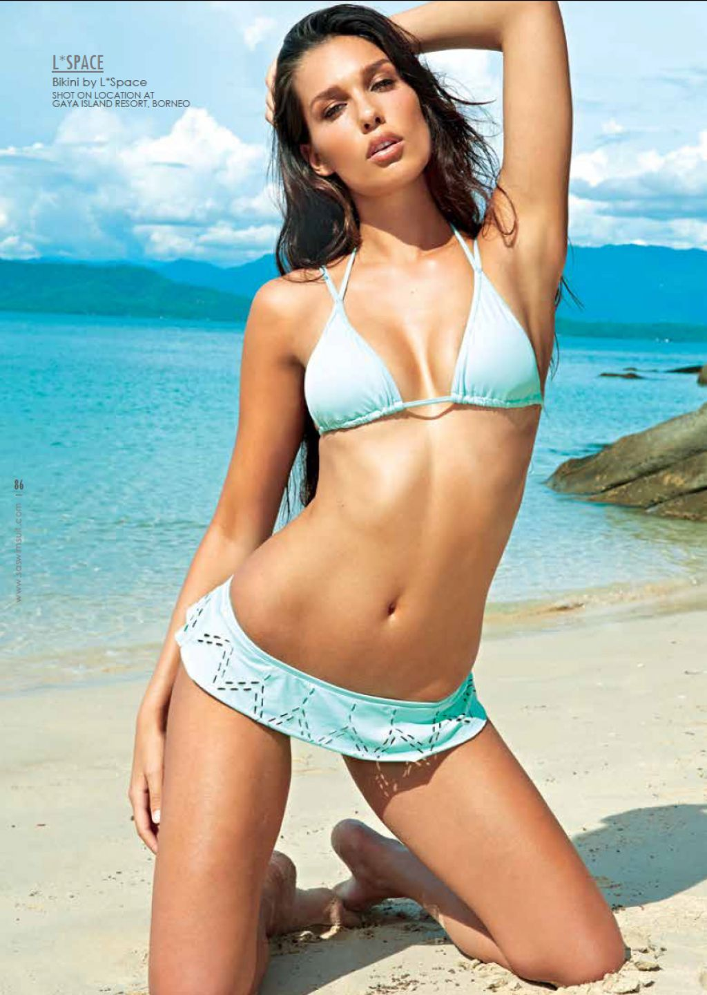 Careen Truter Bikini Photoshoot - South African Swimsuit 2013