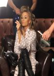 Carmen Electra Photoshoot for 2014 Calendar at Bootsy Bellows in Los Angeles