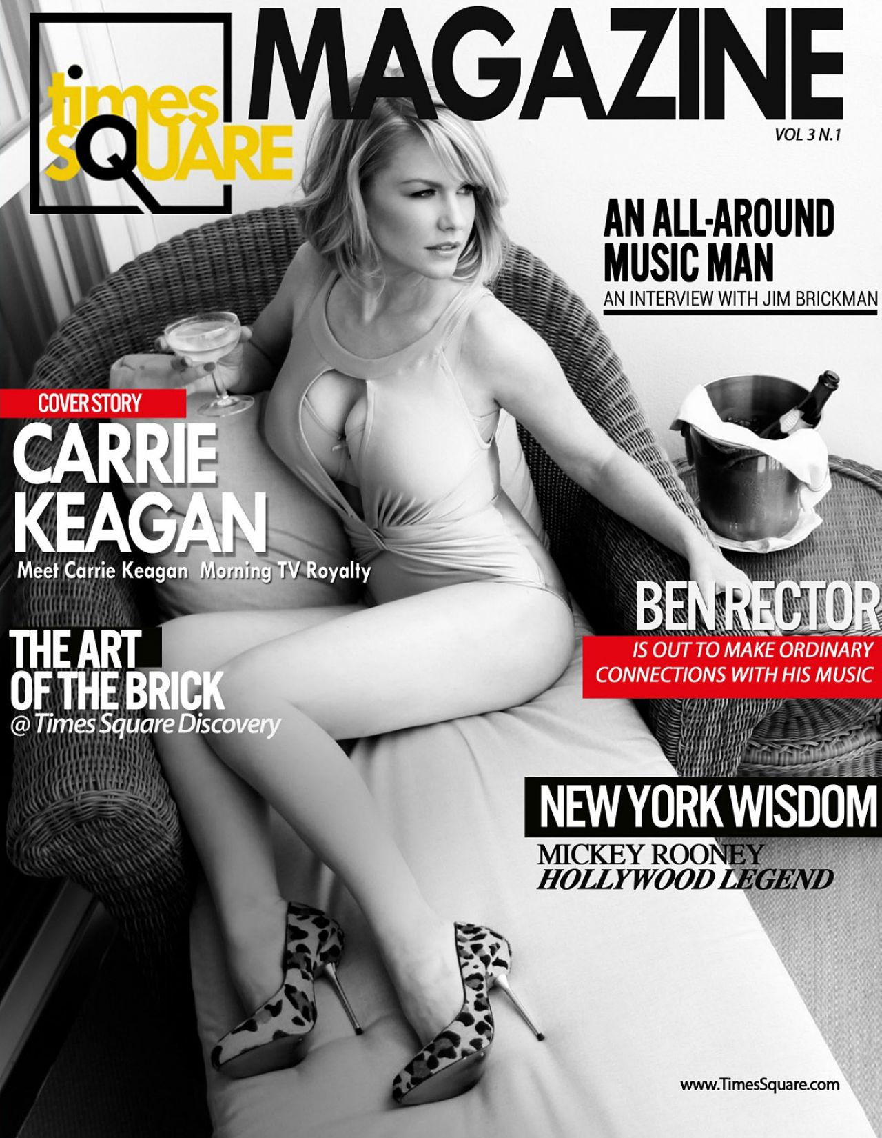 Carrie Keagan - TIMES SQUARE Magazine - December 2013 Issue