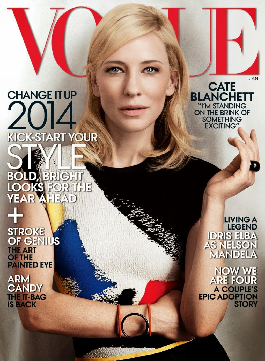 Cate Blanchett - VOGUE Magazine (US) - January 2014 Issue