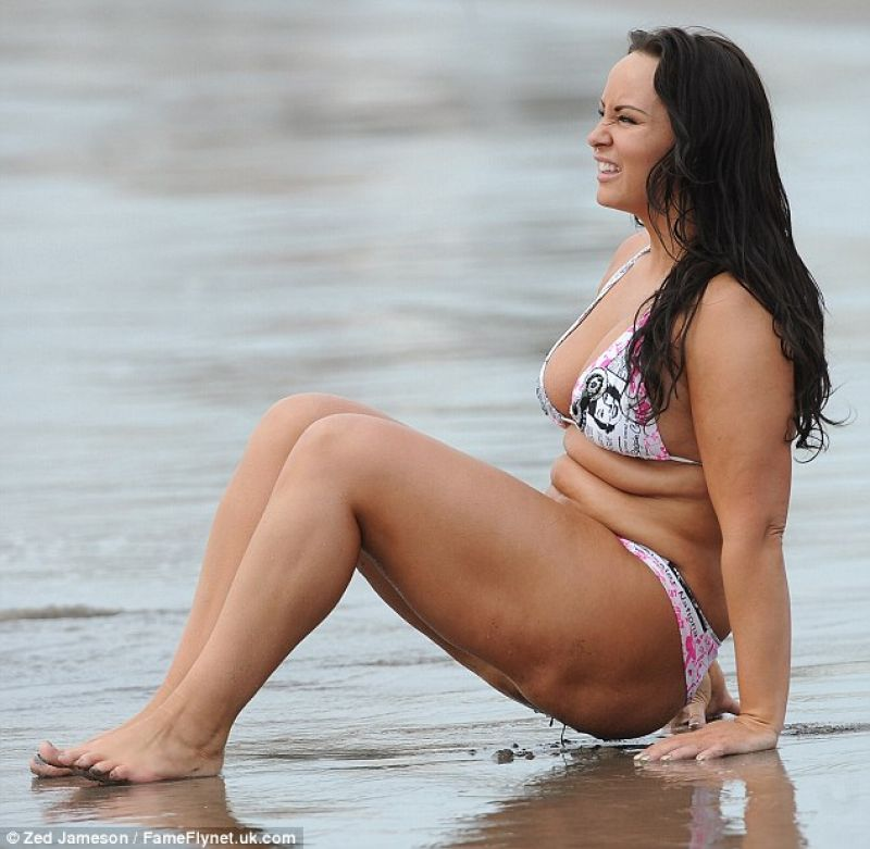 Chanelle Hayes In A Bikini Tenerife December 2013
