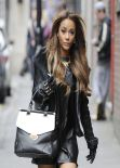 Chelsee Healey Street Style - Manchester December 2013