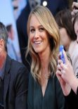 Christine Taylor Is All Smiles at Ben Stiller