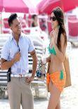 Claudia Romani Bikini Photoshoot -  W Hotel in Miami Beach - December 2013