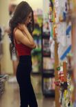 Courtney Stodden Street Style - Grocery Shopping in Los Angeles