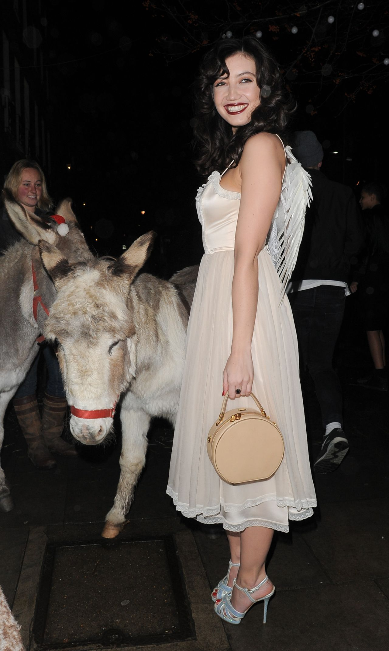 Daisy Lowe - LOVE Magazine Christmas Party - December 2013