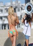 Dani Mathers in a Bikini -Advertising Photoshoot for 138 Water - Los Angeles December 2013
