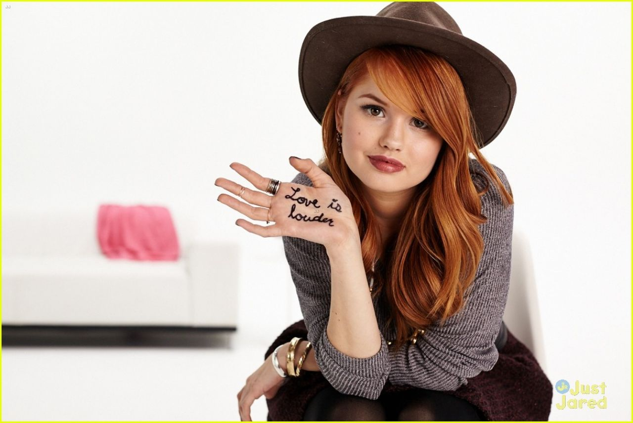 Debby Ryan Shoot Love Is Louder