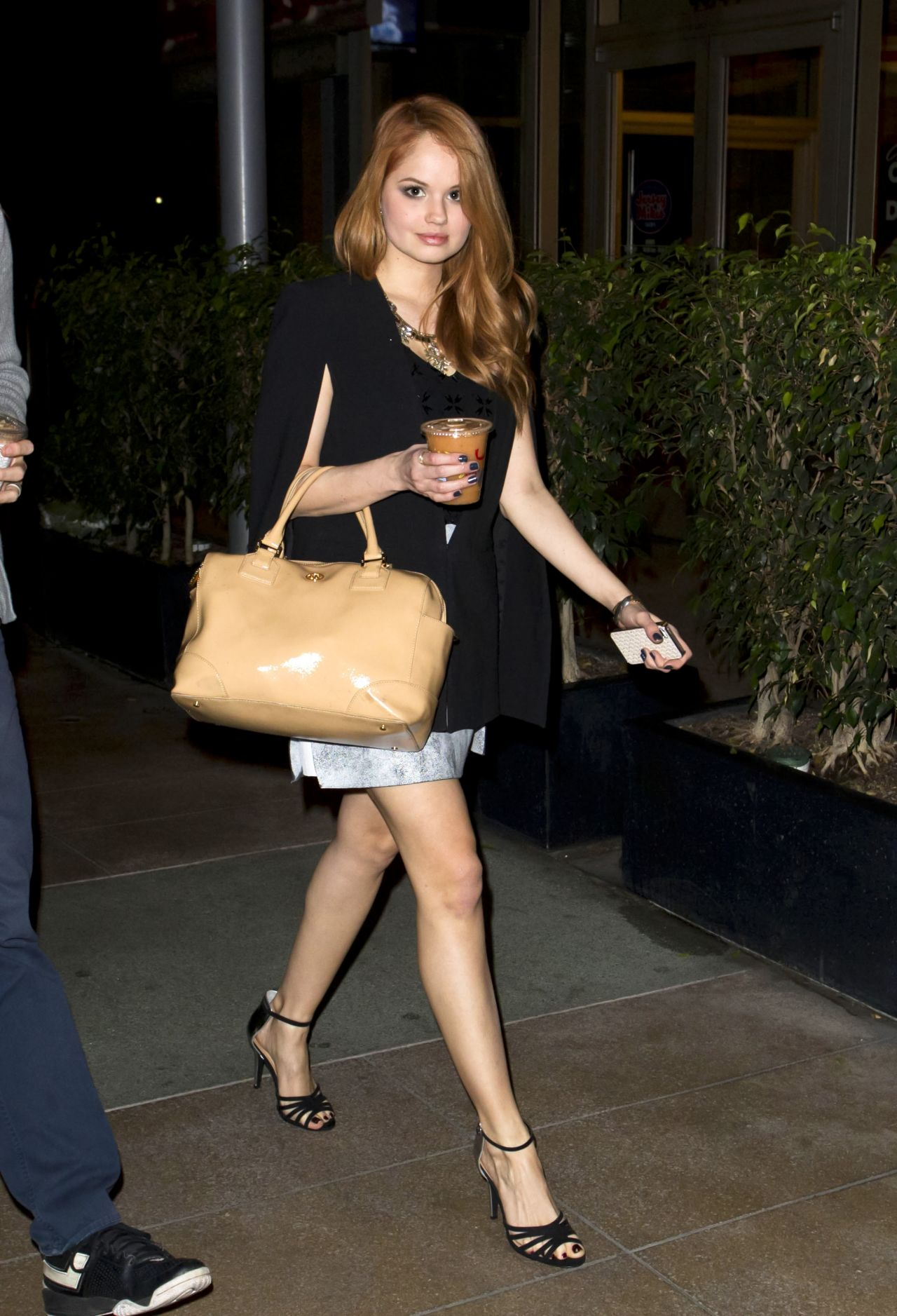 Debby Ryan Sexy Legs - Hungry Cat Restaurant in Los Angeles