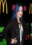 Demi Lovato at Nylon Cover Party - December 2013