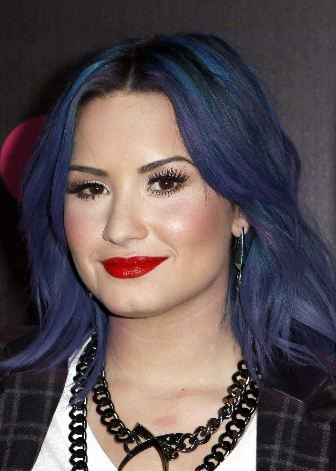 Demi Lovato At Nylon Cover Party December 2013