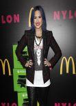 Demi Lovato at Nylon Cover Party - December 2013