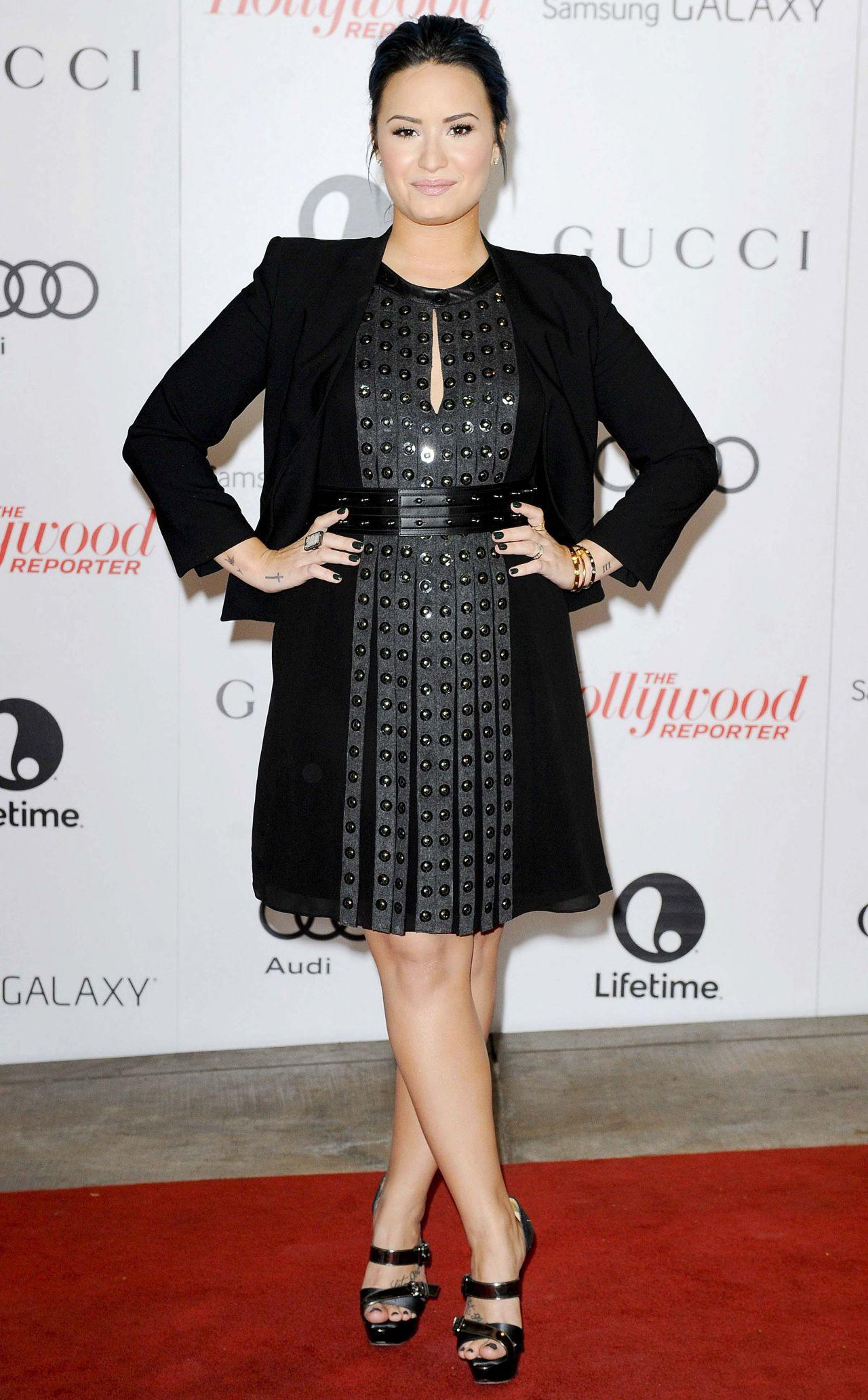 Demi Lovato Thrs Women In Entertainment Event December