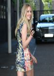 Diana Vickers Shows Off Sexy Long Legs - Daybreak Studios in London - August 2013