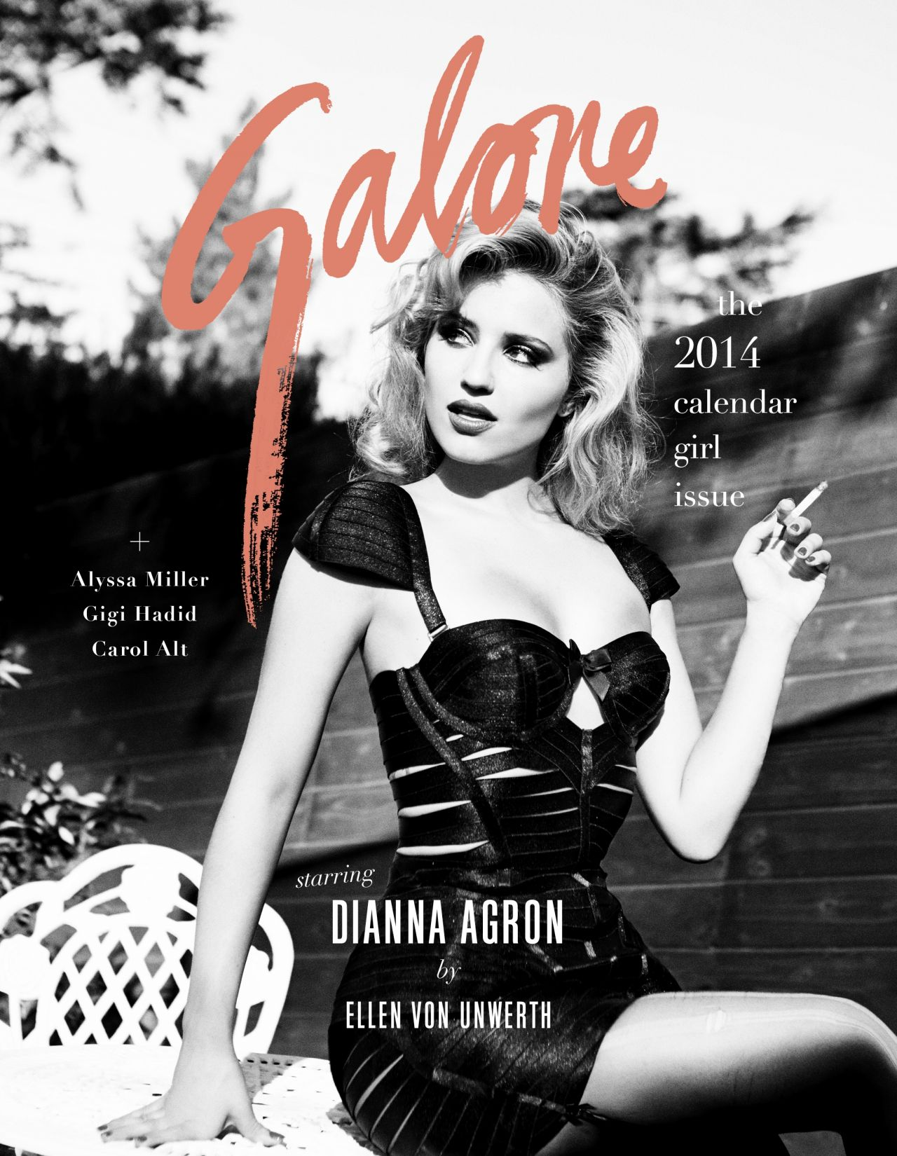 Dianna Agron - Sexy Photoshoot For GALORE Magazine