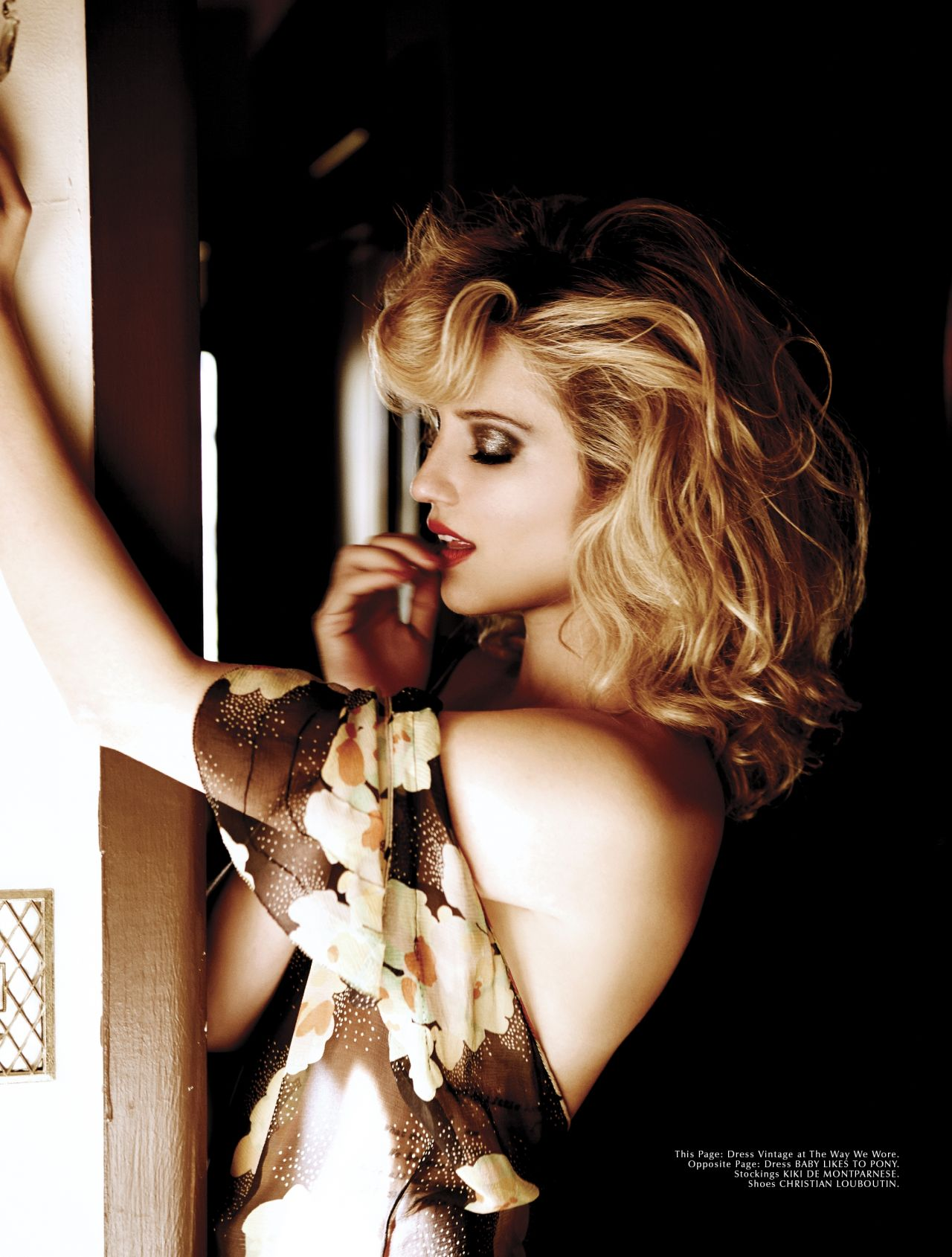 Dianna Agron - Photoshoot For GALORE Magazine • CelebMafia