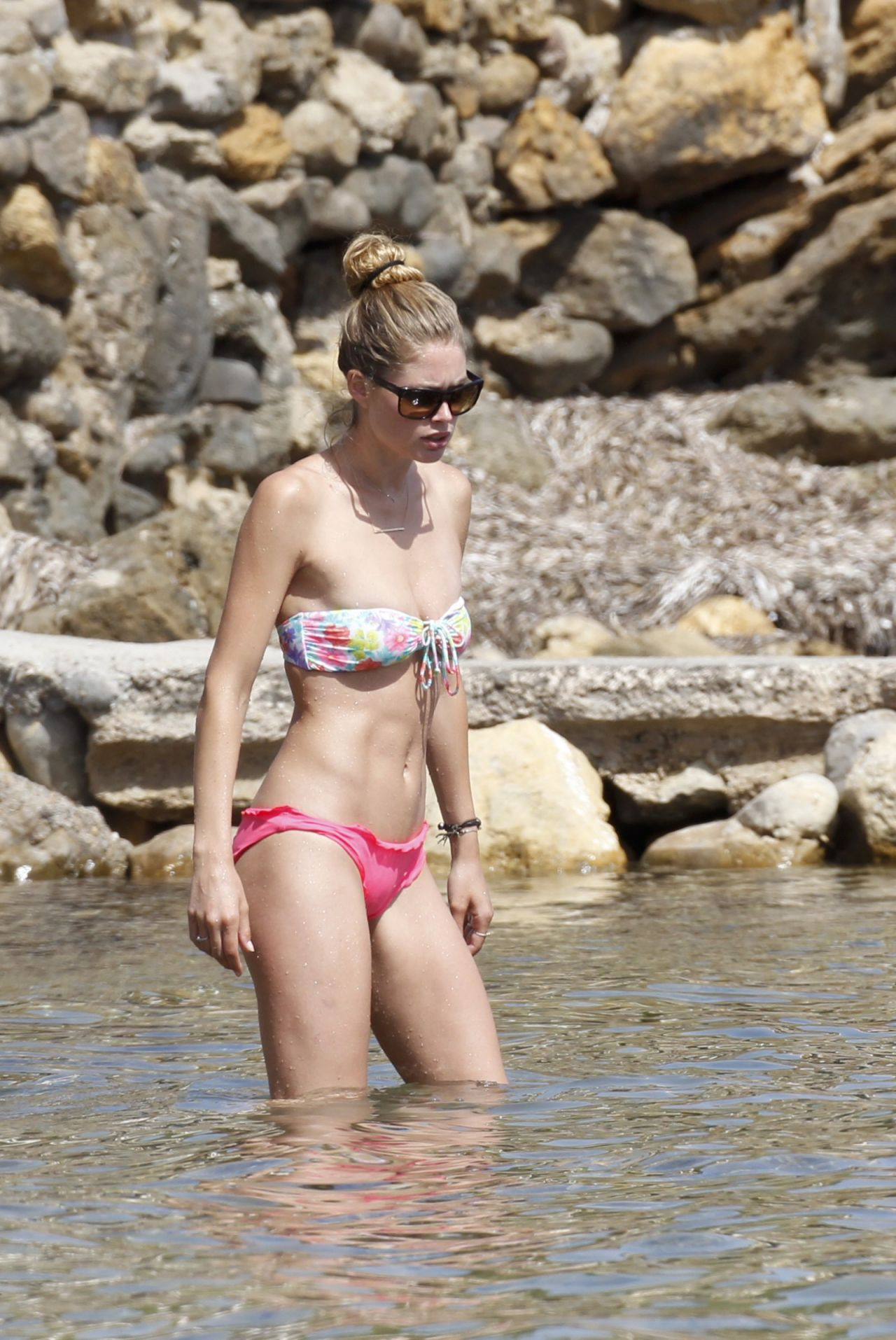 Doutzen Kroes in a bikini - Ibiza - August 2013