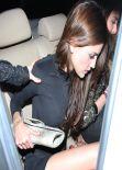 Eiza Gonzalez Night Out Style - DBA club in West Hollywood - December 2013