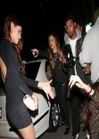 Eiza Gonzalez Night Out Style - DBA club in West Hollywood - December 2013