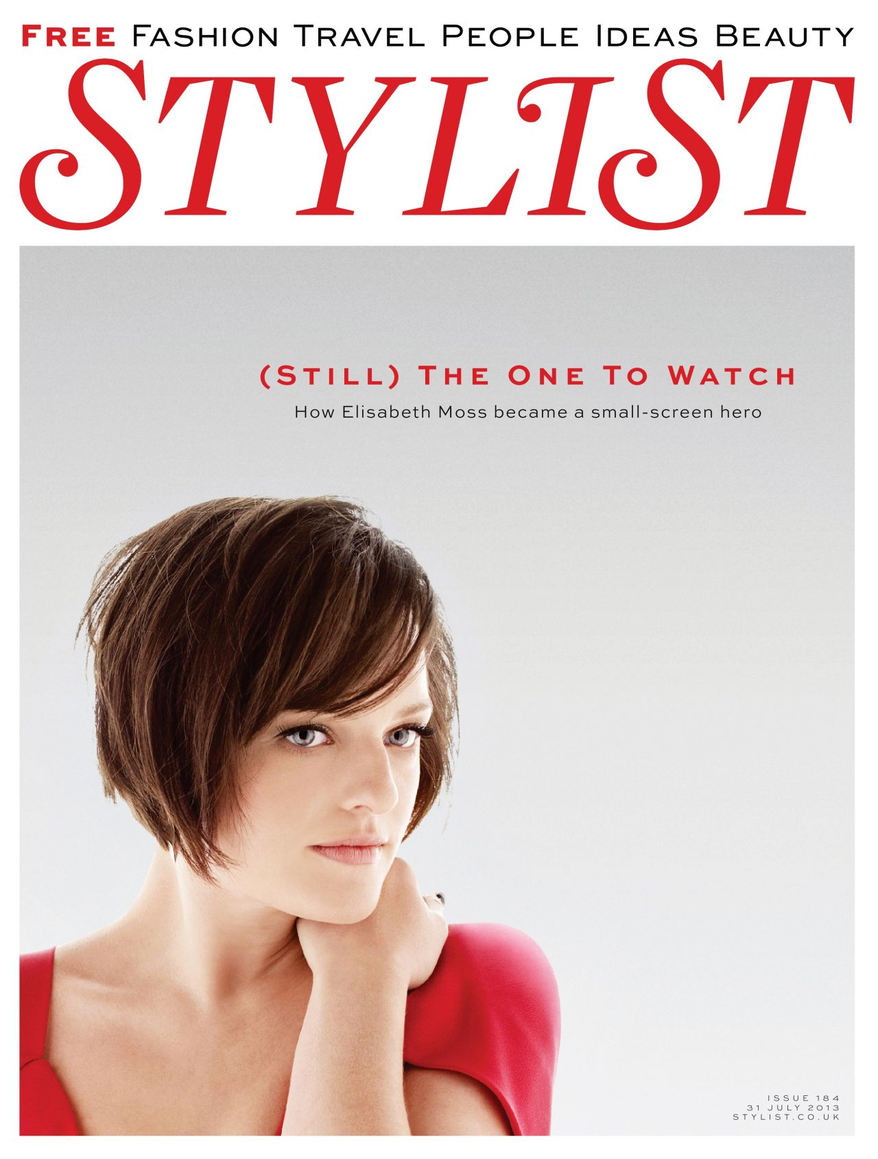 Elisabeth Moss - STYLIST Magazine (UK) - July 2013 Issue