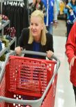Elisha Cuthbert in-store Holiday Appearance - Target in Toronto - December 2013