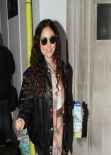 Eliza Doolittle Style - BBC Radio 2 studios in London - December 2013