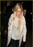 Ellie Goulding Style - Leaving Restaurant 34 in London - December 2013