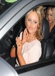 Emily Atack Style - Celebrates Her Birthday at Steam & Rye in London - December 2013