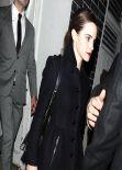 Emma Watson Leaving Lady Gaga