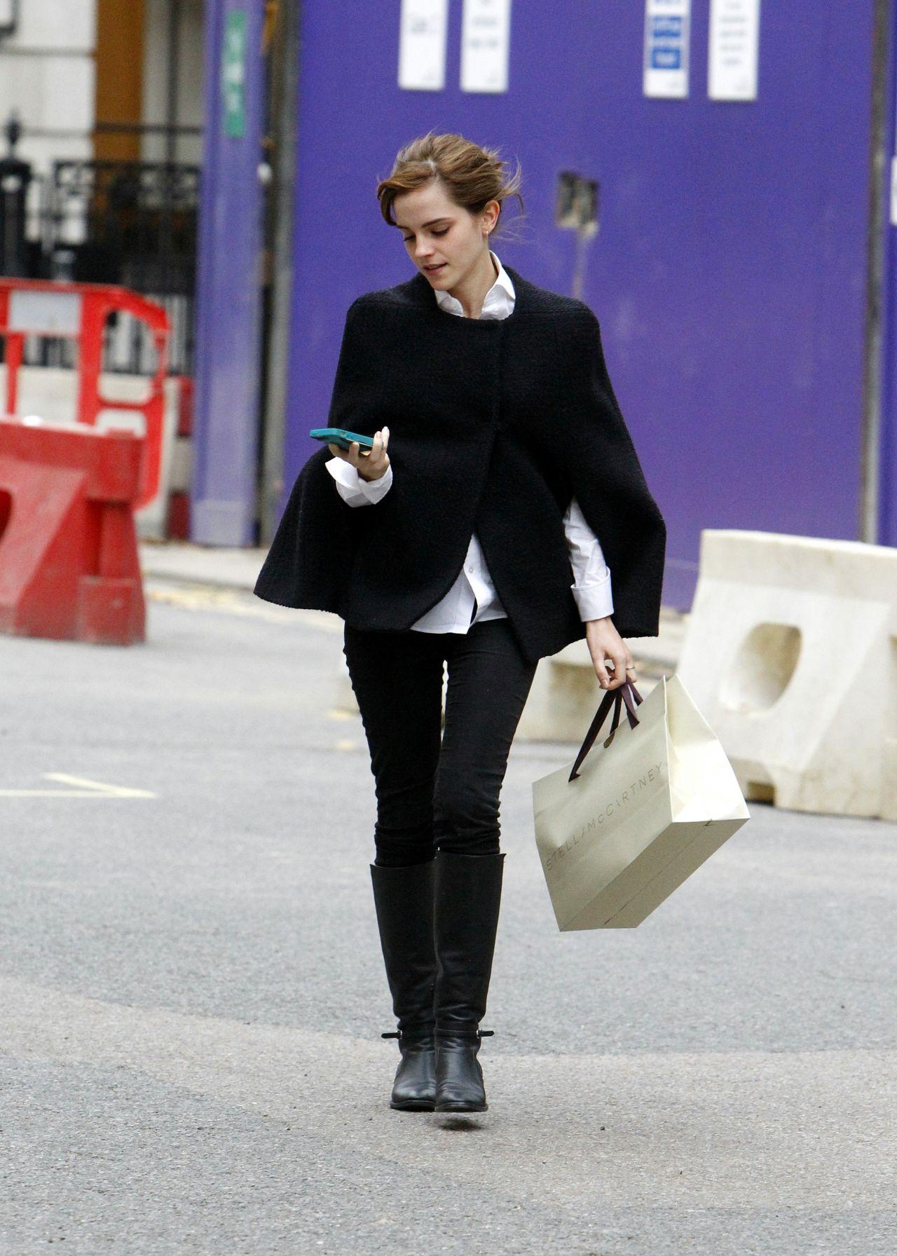 Emma watson street style 2014