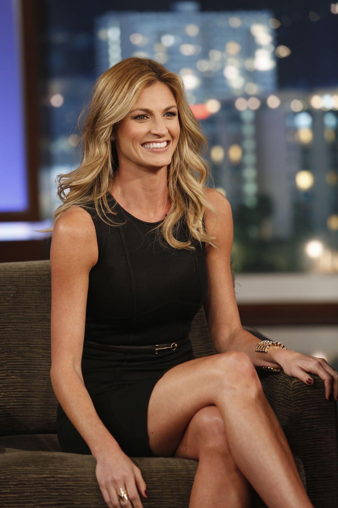 Erin Andrews on Jimmy Kimmel Live - November 2013