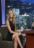 Erin Andrews on Jimmy Kimmel Live - November 2013