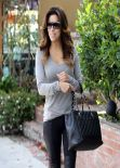 Eva Longoria Street Style - at the Ken Paves Salon and LAX in Los Angeles