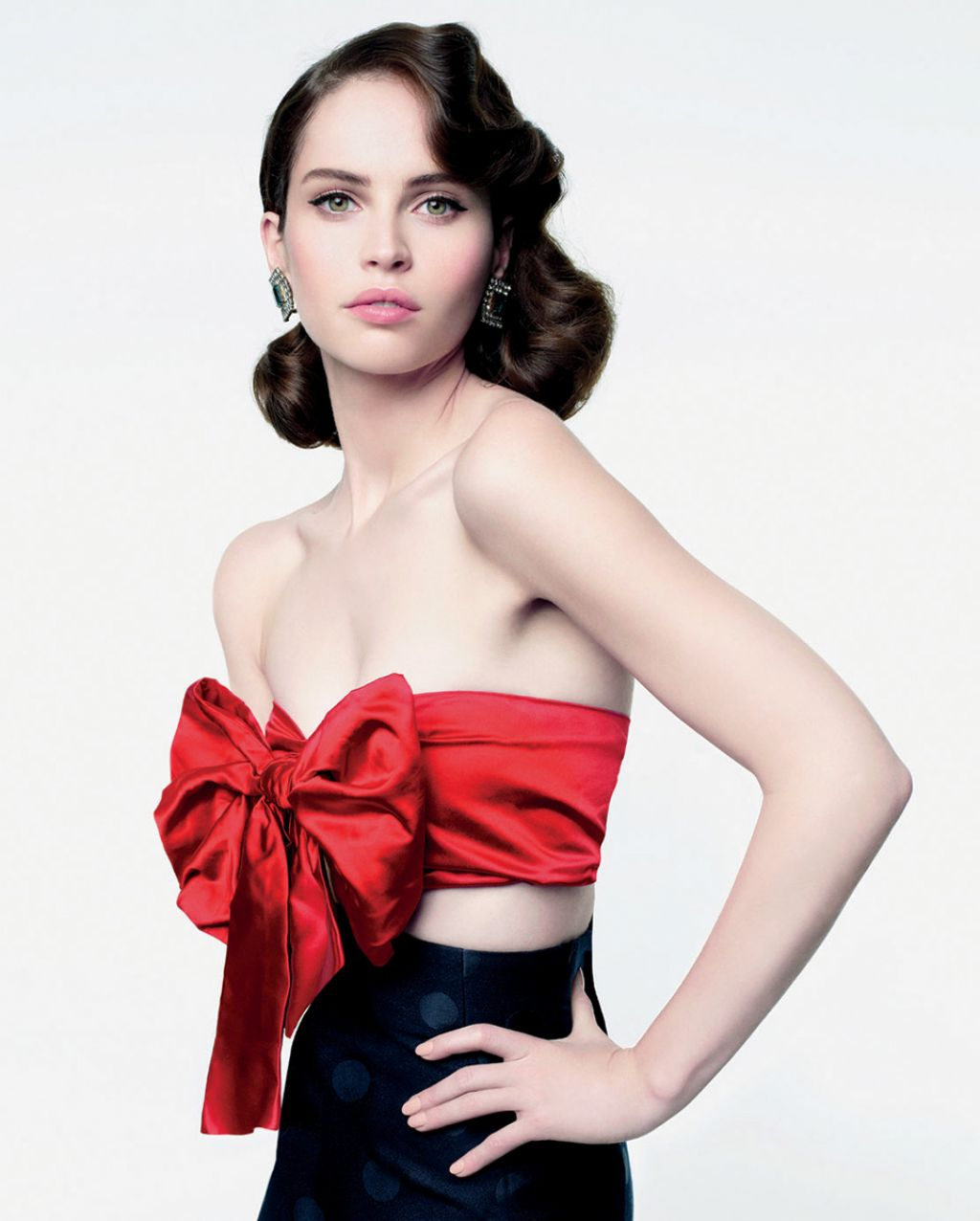 Felicity Jones - VANITY FAIR Magazine - January 2014 Issue
