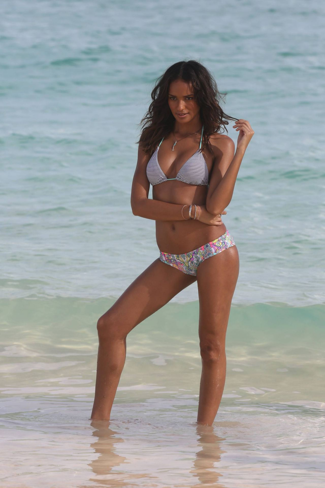 Gracie Carvalho Bikini Photoshoot for Victoria