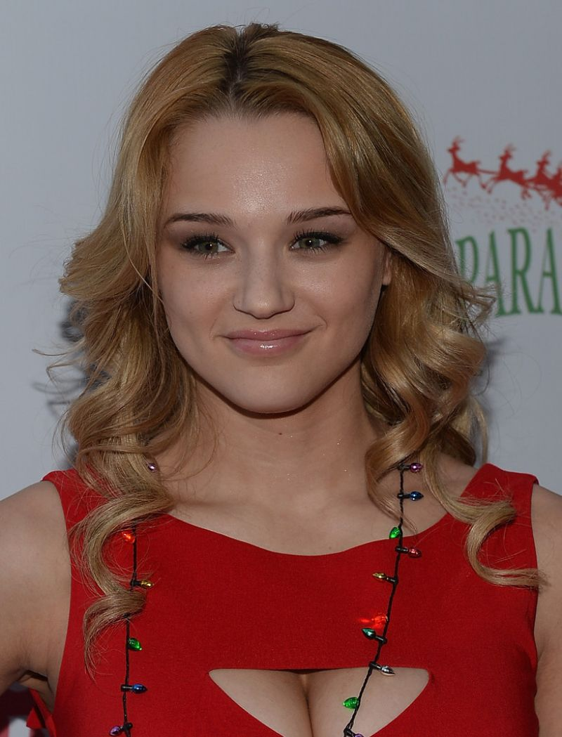 Haley Hunter King Attends 82nd Annual Hollywood Christmas Parade - December 2013