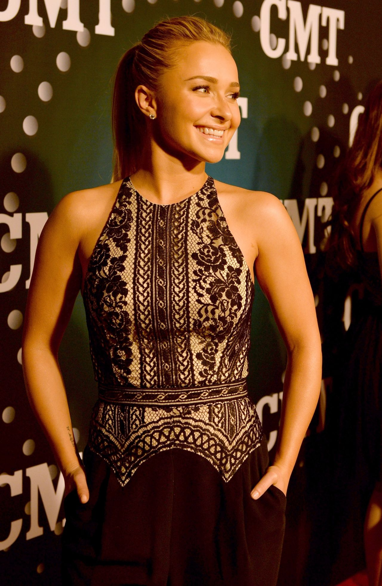 Hayden Panettiere Attends CMT Artists Of The Year in Nashville - December 2013