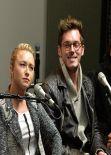 Hayden Panettiere On Air - SiriusXM Presents Nashville in Nashville - December 2013