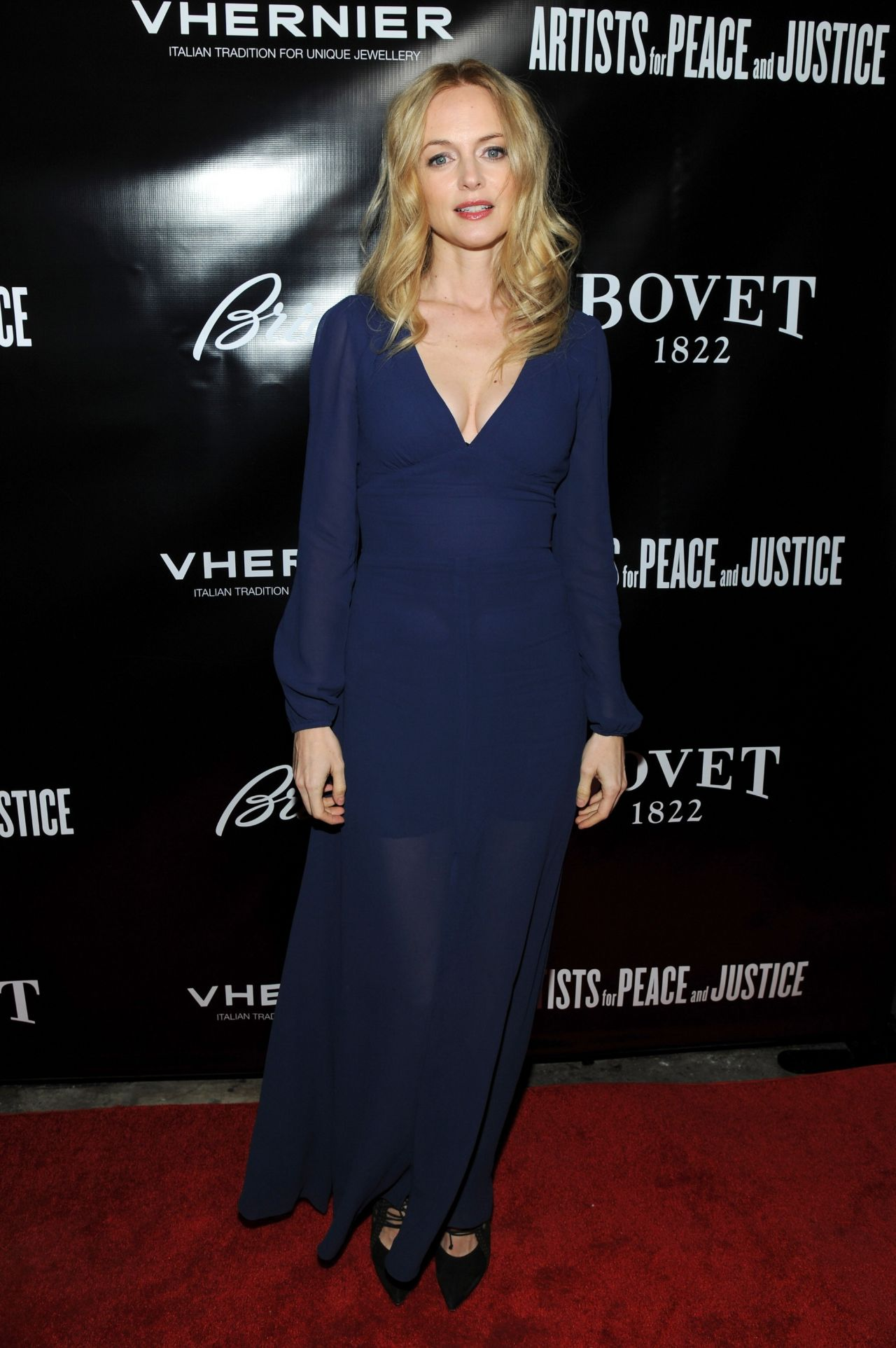 Heather Graham - Artists For Peace And Justice 2013 Holiday Benefit in New York City