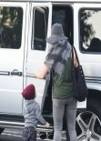 Hilary Duff Street Style - Out in Bel Air - December 2013