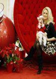 Holly Madison - Christmas Santa Shoot - December 2013