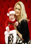 Holly Madison - Christmas Santa Shoot - December 2013