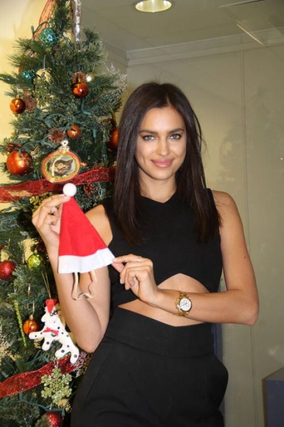 Irina Shayk at the ASPCA
