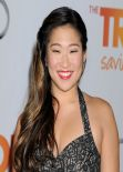 Jenna Ushkowitz Red Carpet Photos – Trevor Project's 2013 TrevorLIVE Los Angeles Event