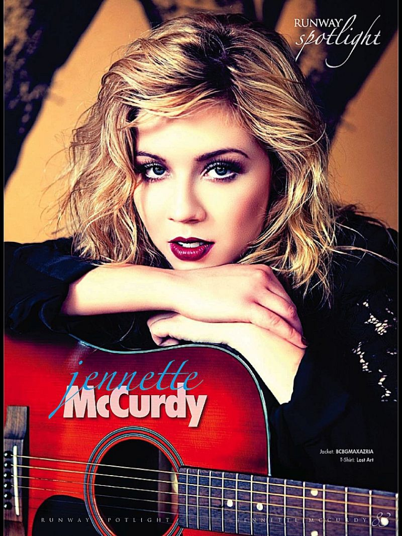 Jennette Mccurdy - RUNWAY Magazine - Winter 2014 Issue