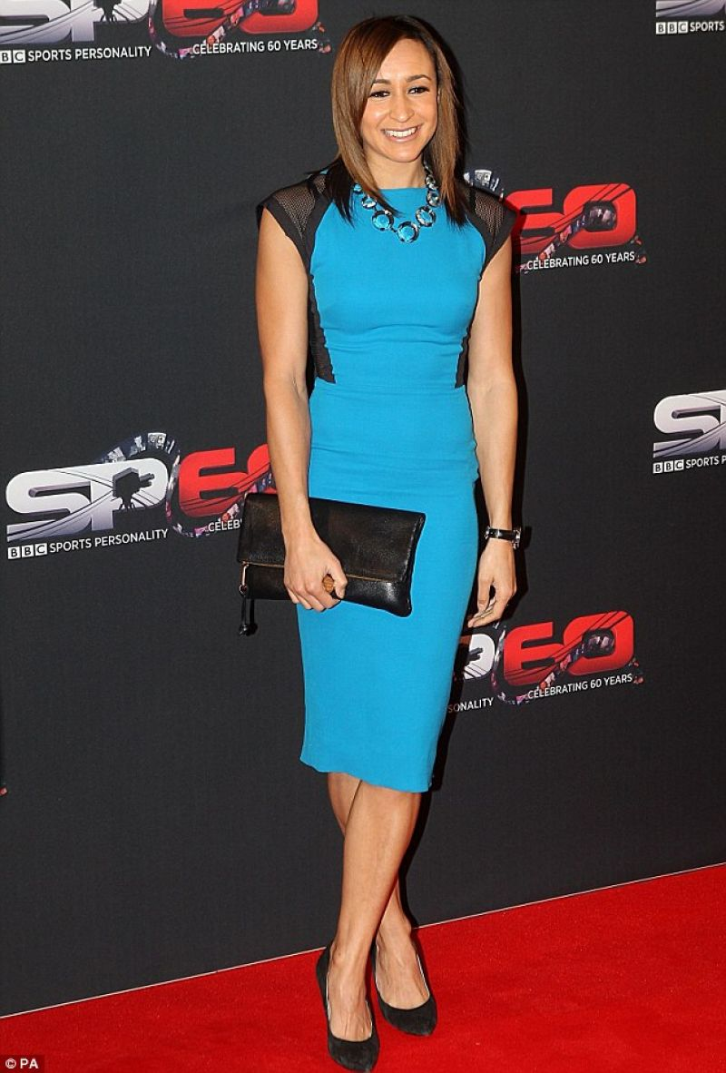 Jessica Ennis Red Carpet Photos - BBC Sports Personality of the Year Awards - Leeds Decemner 2013