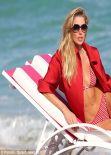 Jessica Hart in Bikini for a Photoshoot at Miami Beach - December 2013